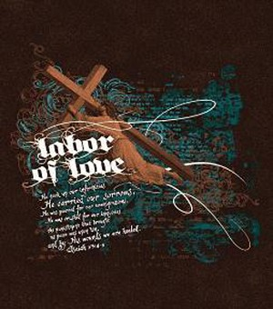 Labor of Love Inspirational Tapestry