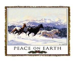 Holiday Winter Spirits Tapestry