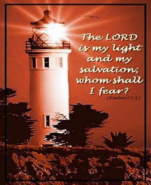 Salvation's Light Inspirational Tapestry