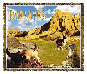 Badlands South Dakota Tapestry