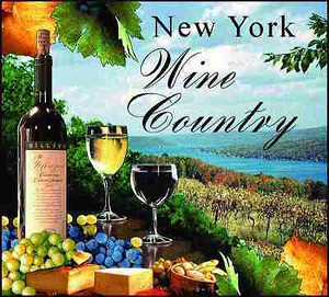 New York Wine Country Tapestry