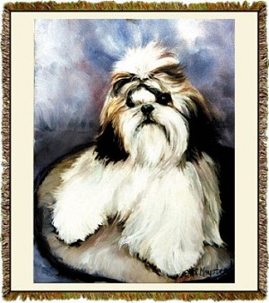 Shih Tzu Ruth Maystead © Tapestry