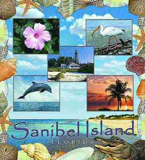 Sanibel Island Florida Tapestry