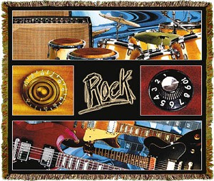 Music Rock Tapestry