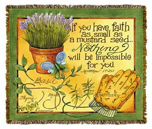 If You Have Faith Tapestry