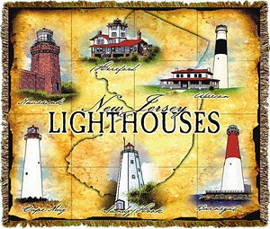 New Jersey Lights Tapestry