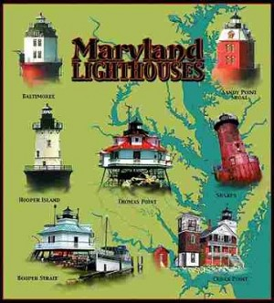 Maryland Lights Tapestry