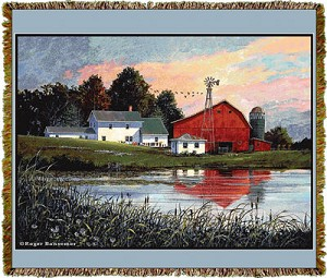 Bansemer Farmscapes Tapestry