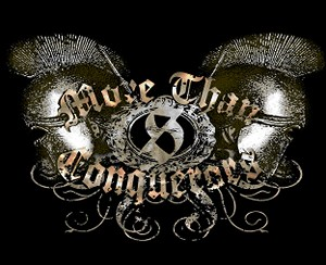 More Than Conquerors Inspirational Tapestry
