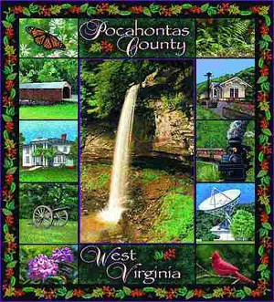 Pocahontas West Virginia Tapestry