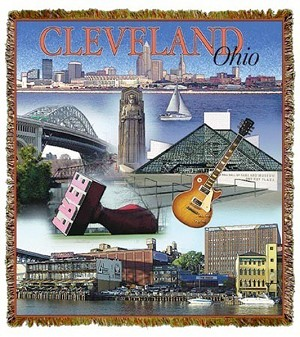 Cleveland Ohio Tapestry