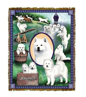 Samoyed Tapestry