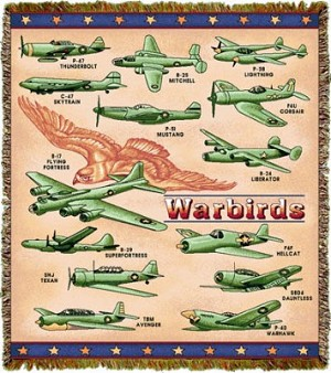 Warbirds Tapestry