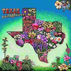 Texas Wildflowers Tapestry
