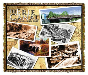 Erie Canal New York Tapestry