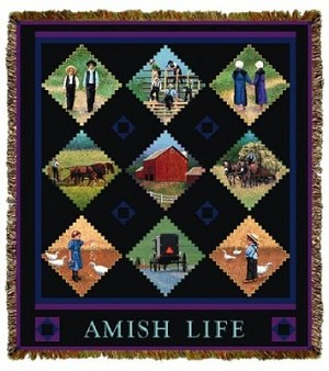 Amish Life Tapestry
