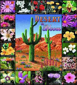 Desert In Bloom Tapestry