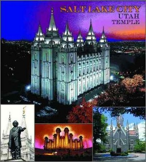 Mormon Temple Salt Lake Ut Tapestry