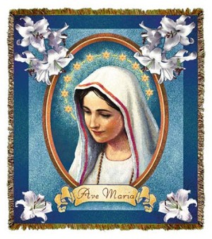 Ave Maria Tapestry