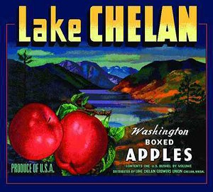 Lake Chelan Apples Washington Tapestry