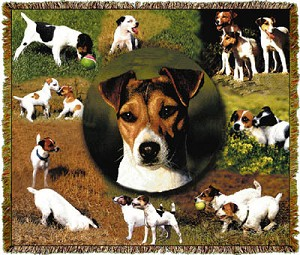 Jack Russell Tapestry