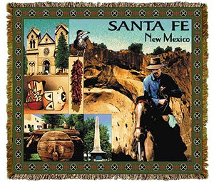 Santa Fe New Mexico Tapestry