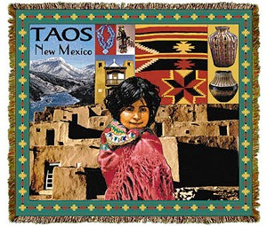 Taos New Mexico Tapestry