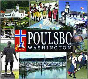 Poulsbo Washington Tapestry