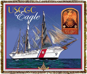 Uscgg Eagle Fighters Tapestry