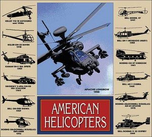 Helicopters History Tapestry
