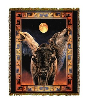 Native American Hallowed Harmony Tapestry