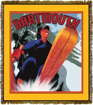 Travel Poster Dartmouth Tapestry