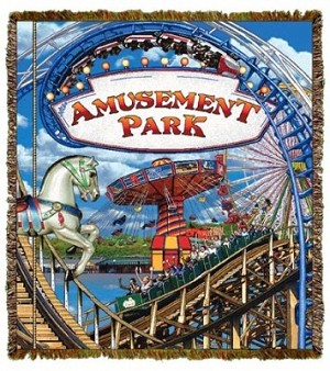 Amusement Park Tapestry