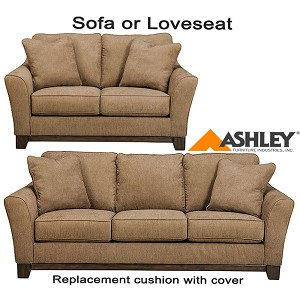 ashley morandi replacement cushion cover 6680238 sofa or 6680235 love. Black Bedroom Furniture Sets. Home Design Ideas