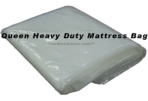 Queen Size Heavy Duty Extra Deep Plastic Mattress Bag