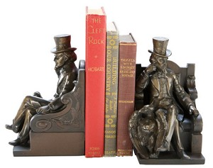 Uncle Sam with Eagle Bookends