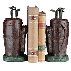 Golf Bag Bookends