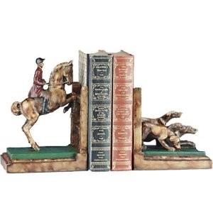 Horse And Hounds Bookends