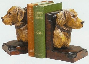 Hunting Dog Bookends