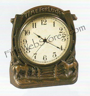 Time For Luck Clock Antique Style
