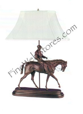 Large Jockey Boy Lamp