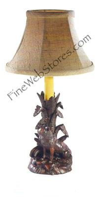 Sitting Fox Candle Holder Lamp