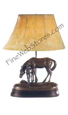 Better Stay Here Horse Lamp