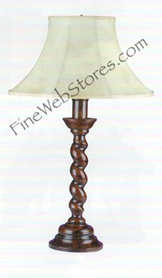 Rope Twist Lamp