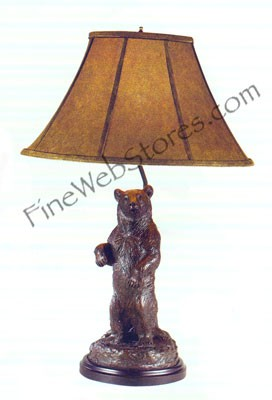 Forest Bear Lamp
