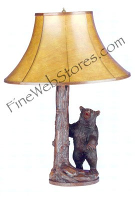 Tree Bear Lamp
