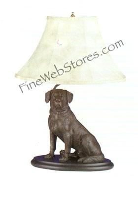Sitting Lab Lamp