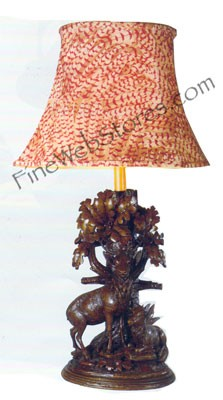 Forest Monarch Lamp