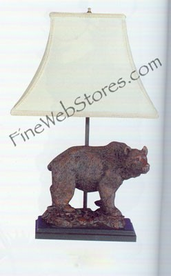 Grizzly Bear Lamp