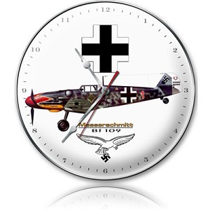 Messerschmitt Metal Clock